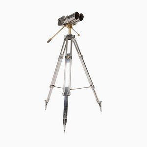 Anti-Aircraft Binoculars on Telescopic Stand by TZK, 1950s