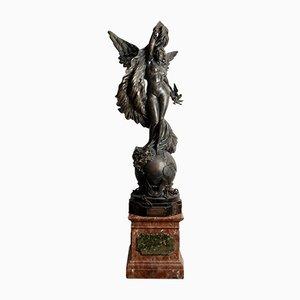 Statue en Bronze et Plâtre par L. Maurer
