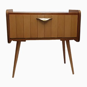 Small Sideboard with Brass Handle, 1960s