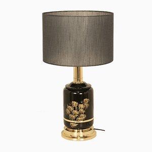 Lampe de Bureau Vintage en Laiton Laqué de Clar