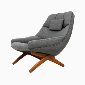 ML 91 Lounge Chair by Illum Wikkelso for Mikael Laursen, 1960s