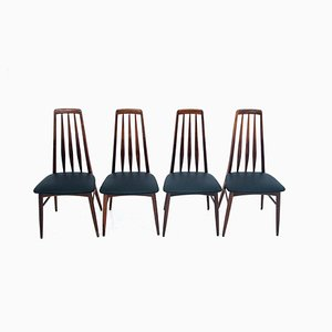 Dining Chairs by Niels Koefoed, 1960s, Set of 4