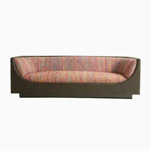 Mid-Century Modern Brazilian Cubo Sofa by Jorge Zalszupin, 1960s