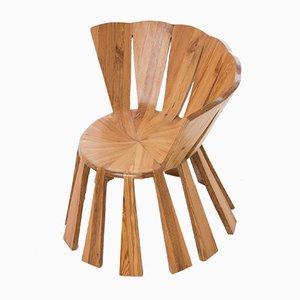 Brazilian Sol Chair in Reclaimed Wood by Rodrigo Simão