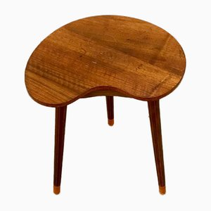 Danish Modern Kidney Shaped Oak Side Table by Edmund Jorgensen, 1950s