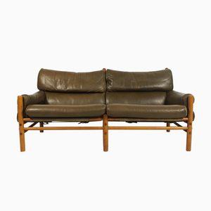 Modell Kontiki Zwei-Sitzer Sofa von Arne Norell für Arne Norell AB