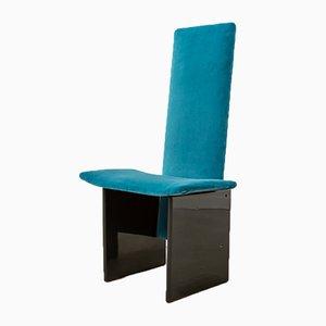 Vintage Dedar Milano Velvet Rennie Chair by Kazuhide Takahama for Studio Simon