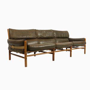 Modell Kontiki Drei-Sitzer Sofa von Arne Norell für Arne Norell AB, 1960er