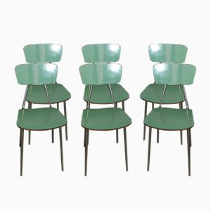 Italian Ant Dining Chairs, 1970s, Set of 6