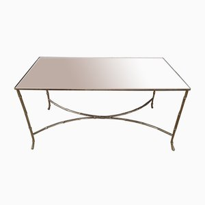 Vintage Gilded Metal Coffee Table