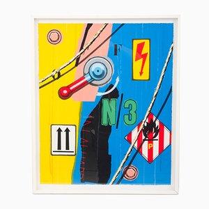 Siebdruck von Peter Klasen, 1997