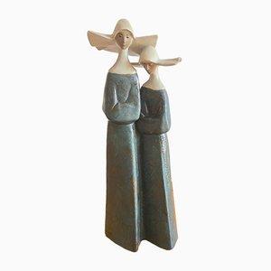 Statues Sisters Vintage par Lladro