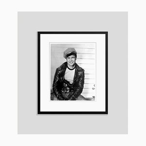 The Wild one Brando 1954 Archival Pigment Print Framed in Black by Everett Collection