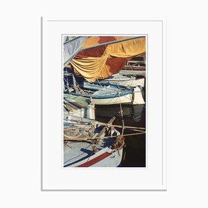 Fishing Boats Oversize Archival Pigment Print Framed in White by Für Kunst Und Geschichte