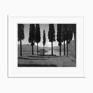 Italian Landscape Oversize Archival Pigment Print Framed in White by Für Kunst Und Geschichte