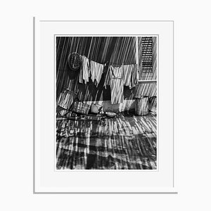 Laundry in Shadows Oversize Archival Pigment Print Framed in White by Für Kunst Und Geschichte