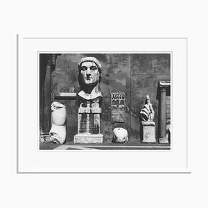 Roman Sculptures Oversize Archival Pigment Print Framed in White by Für Kunst Und Geschichte