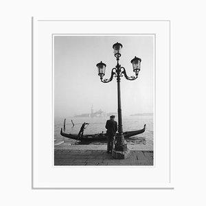 Venice Abstraction Übergroßer Pigment Druck im Pergament Rahmen von Für Kunst Und Geschichte