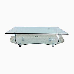 Meuble TV / Table Basse de Fiam, 1990s
