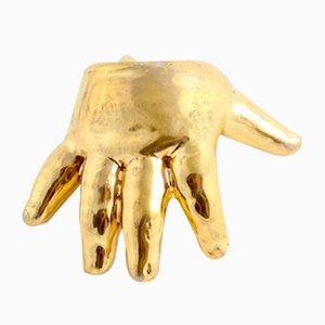 Gold Baby Hand by Maria Joanna Juchnowska