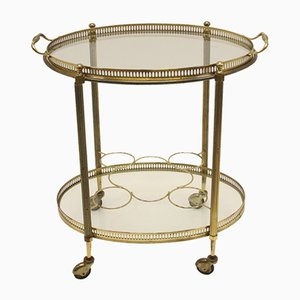 Paris Golden Drinks Trolley by Maison Charles for Maison Jansen, 1950s