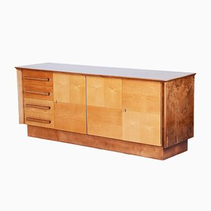Mid-Century Czech Maple Sideboard, 1950s