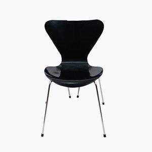 Sedia da pranzo serie 3107 di Arne Jacobsen per Fritz Hansen, anni '90