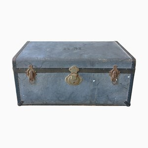 Blue Travel Trunk, Sweden, 1940s