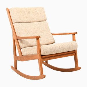 Mid-Century Danish Rocking Chair in Teak, 1960s