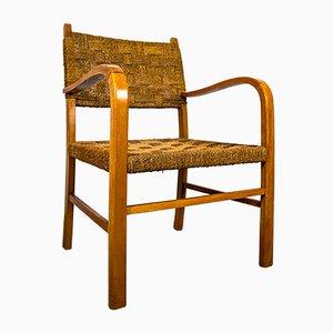 Bauhaus Brutalist Style Chair in the Style of Erich Dieckmann, 1920s
