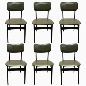 Dining Chairs S4 by Alfred Hendrickx for Belform, 1950s, Set of 6