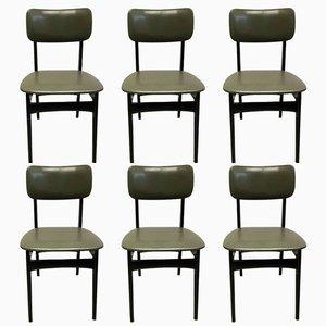 S4 Esszimmerstühle von Alfred Hendrickx für Belform, 1950er, 6er Set