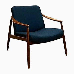 Mid-Century Teak Lounge Chair by Hartmut Lohmeyer for Wilkhahn, 1950s