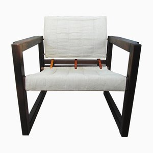 Diana Canvas Safari Chair Lounge Chair by Karin Mobring for Ikea, 1972