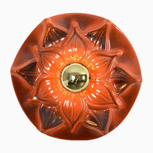 Ceramic Sconce from Honsel, 1970s