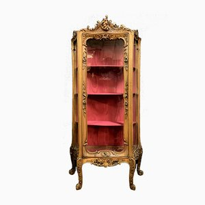 Louis XV Solid Walnut Wall Unit