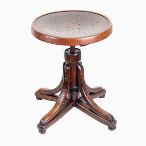Antique Piano Stool by Michael Thonet for Jacob & Josef Kohn