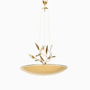Finnish Model K2-33 Ceiling Lamp by Paavo Tynell for Taito Oy, 1950s