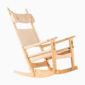Rocking Chair Modèle GE-273 par Hans J. Wegner pour Getama, Danemark, 1950s