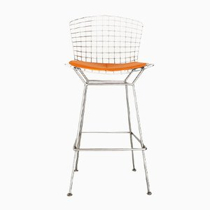 Taburete de bar de Harry Bertoia para Knoll International, 1972