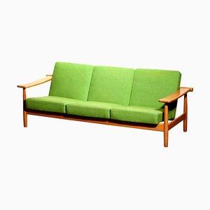 Danish Oak Sofa in the Style of Getama, 1960s
