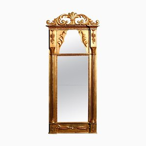 French Empire Gilded Mirror, 1800s