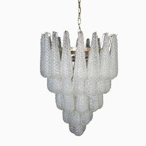 Italian Murano Chandelier in the Style of Ercole Barovier