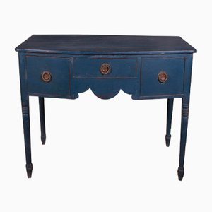 Bow Front Side Table, 1820s