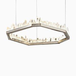White Quartz Pendant Lamp