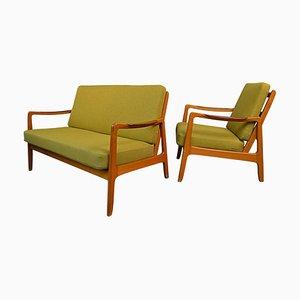 Living Room Set from Svegards, 1950s, Set of 2