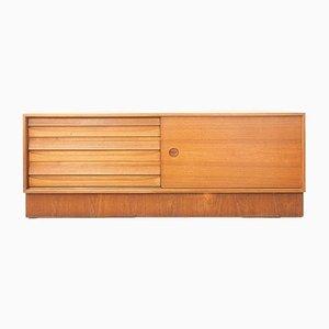Dänisches Vintage Sideboard mit Schiebetür
