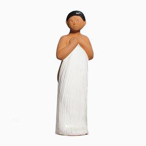 Keramik Figur von Mari Simmulson für Upsala Ekeby, 1960er