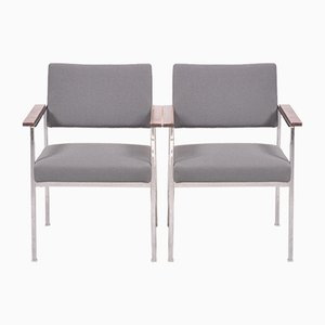 Mid-Century Series 800 Dining Chairs by Hanno v. Gustedt for Thonet, Set of 2