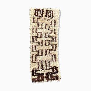 Tappeto Beni Ouarain berbero vintage